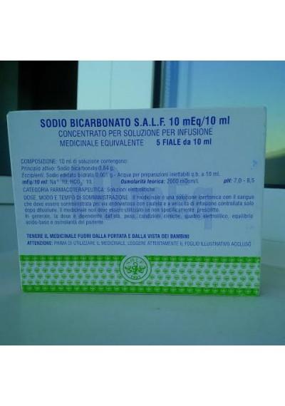 SODIO BICARBONATO MONICO 1mEq/ml